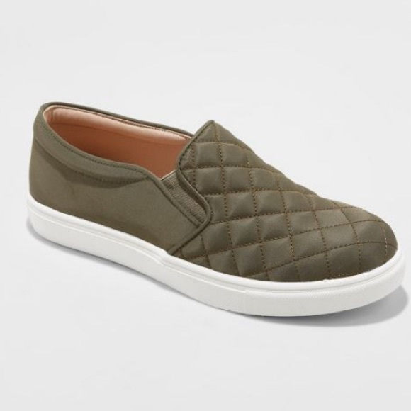 a new day Shoes - 🎉HP🎉 Reese Quilted Sneakers Green - A New Day